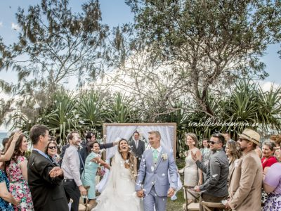 Ready Set Wedding Confetti | Brisbane Wedding Photographer - Tom Hall Photography