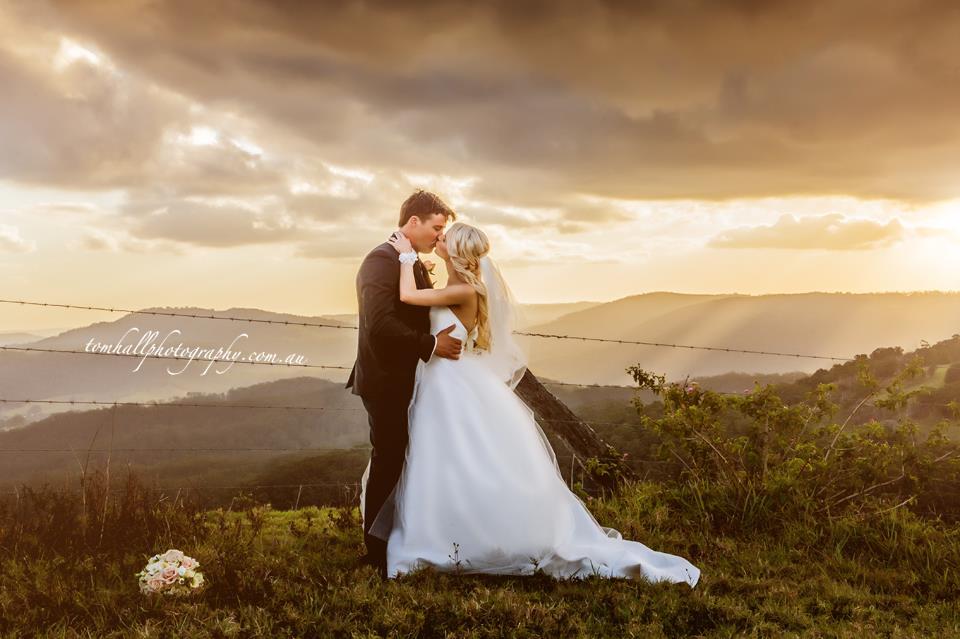 Maleny vineyard wedding