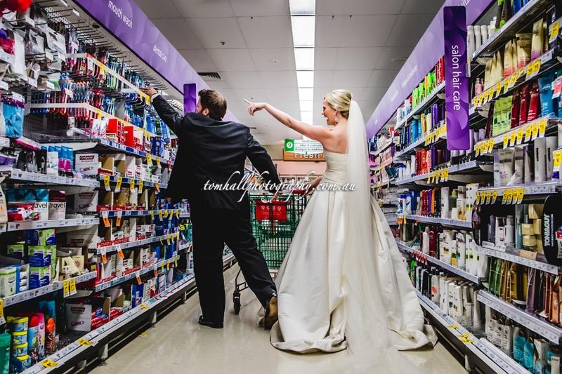 Supermarket Wedding Photos