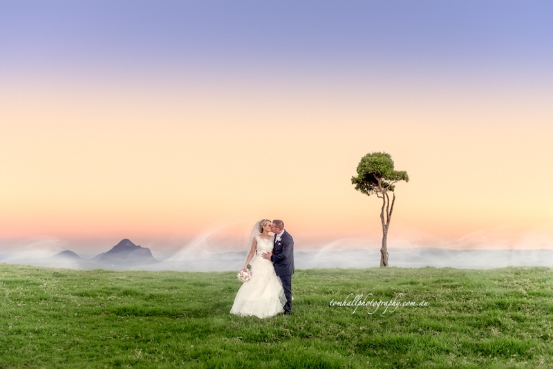 Tom Hall is the best wedding Photographer in Maleny and Brisbane