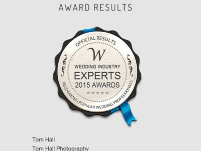 WIEA Most Popular Wedding Photographer | Brisbane Wedding Photographer - Tom Hall Photography