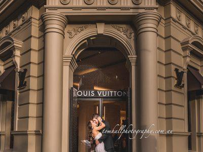 I Love Melbourne Wedding Photography | Brisbane Wedding Photographer - Tom Hall Photography image 2