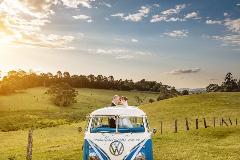 Weddings At Tiffanys Maleny Lodge Wedding Kombi Photography Photos