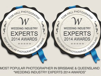 Most Popular Wedding Photographer | Brisbane Wedding Photographer - Tom Hall Photography