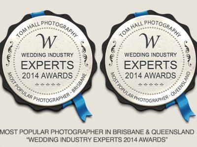 Most Popular Wedding Photographer | Brisbane Wedding Photographer - Tom Hall Photography