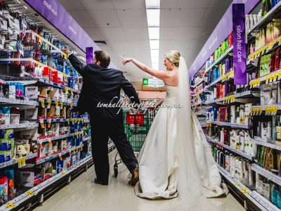 Supermarket Wedding Photos | Brisbane Wedding Photographer - Tom Hall Photography image 3