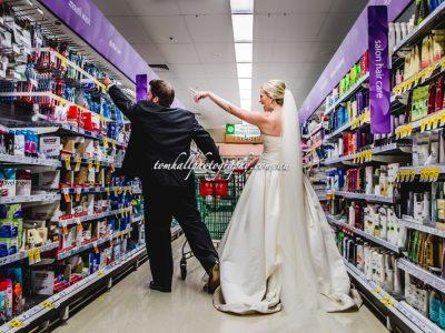 Supermarket Wedding Photos | Brisbane Wedding Photographer - Tom Hall Photography image 3