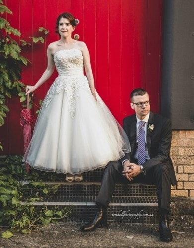 Evan And Anne's Vintage Wedding | Brisbane Wedding Photographer - Tom Hall Photography image 2