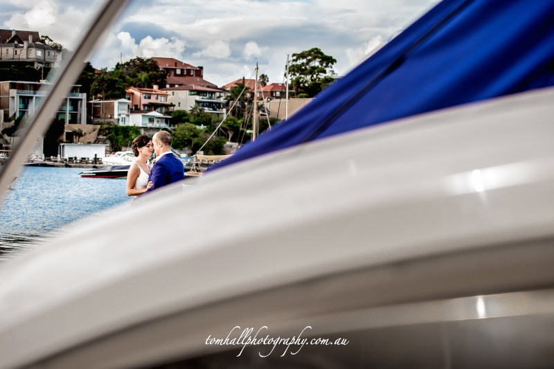 rose bay wedding photos