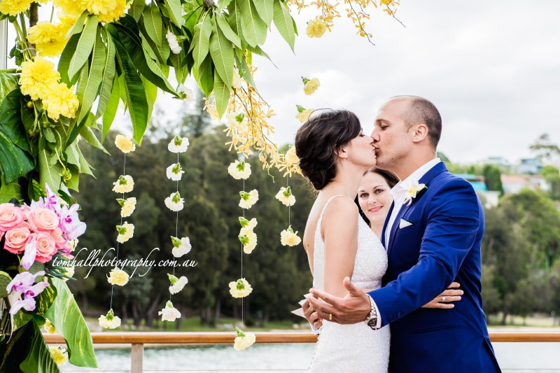 the sailors club wedding photography rose bay