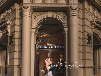 I Love Melbourne Wedding Photography | Brisbane Wedding Photographer - Tom Hall Photography image 2