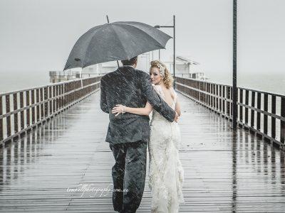 Rain, Rain, Rain! | Brisbane Wedding Photographer - Tom Hall Photography image 3